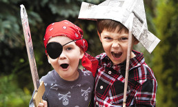 kids pretending to be pirates children playing pirates imagination