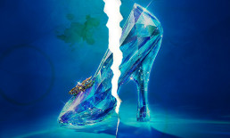 cinderella shoe from cinderella movie torn and stained