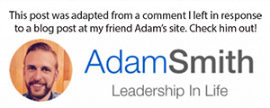 Link to Adam Smith's blog