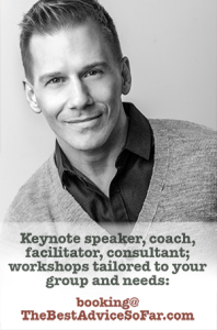 Erik is available as a keynote speaker, facilitator, presenter, workshop or webinar host, and more. Click to explore the live options.