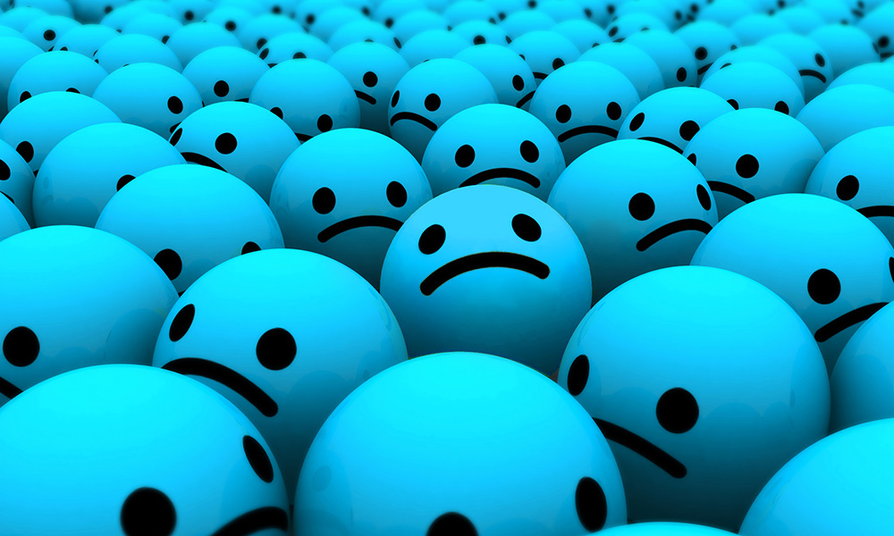 The Best Advice So Far: the grumbles part 1 - many blue sad-face balls
