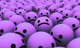 The Best Advice So Far: the grumbles part 1 - many purple sad-face balls