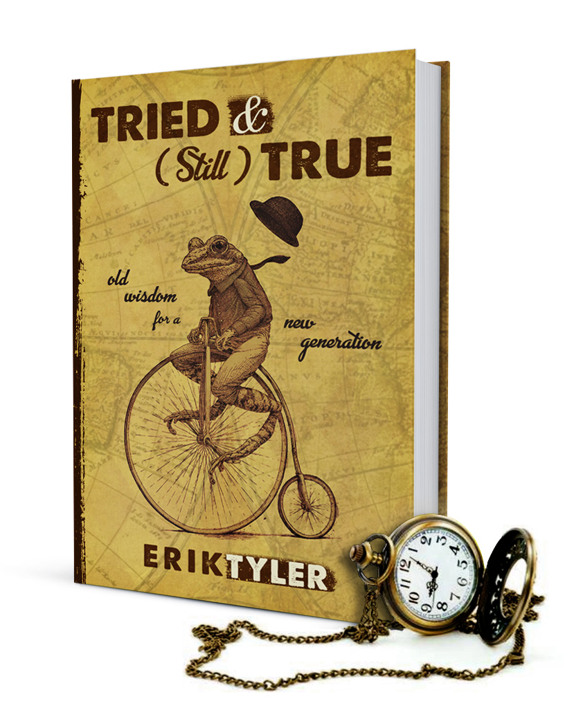 TRIED & (Still) TRUE book cover with antique pocket watch