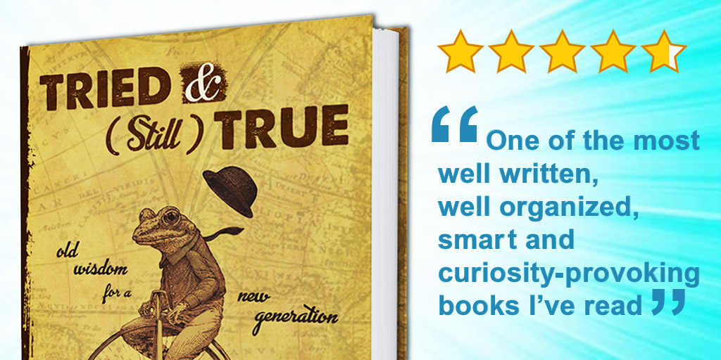 """Book Cover. Five Stars. Review: """"One of the most well written, well organized, smart and curiosity-inducing books I've read."""""""